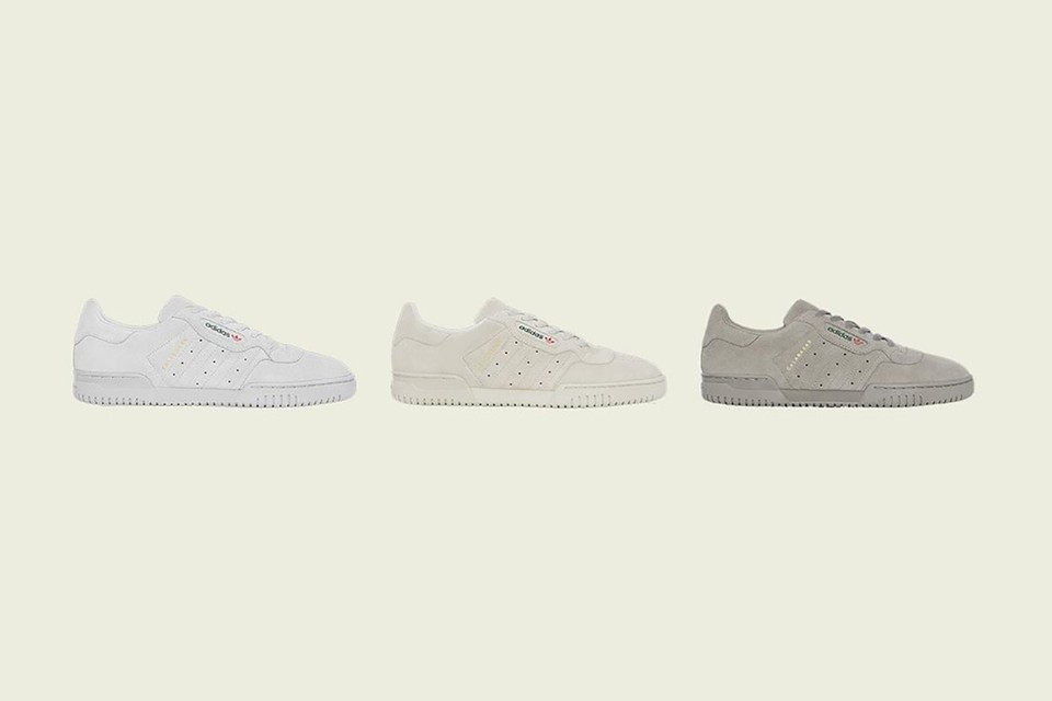 adidas Releases Three Colorways of the New Suede YEEZY Powerphase