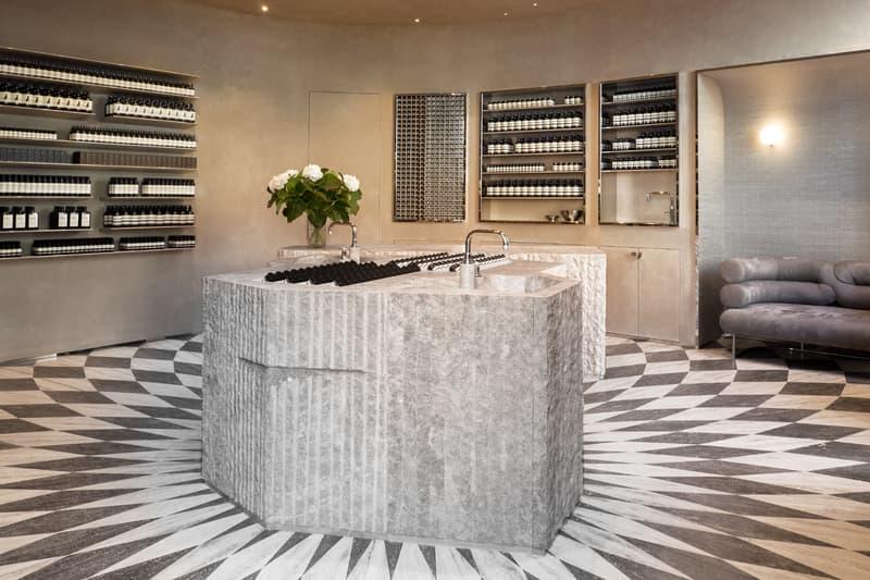 Aesop Skincare London Piccadilly Flagship Store Interior Luca Guadagnino