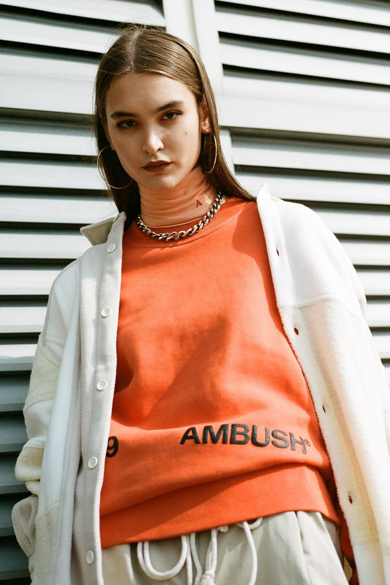 ambush fall winter collection verbal yoon hbxwm hbx jackets hoodies jewelry accessories hawaiian shirts