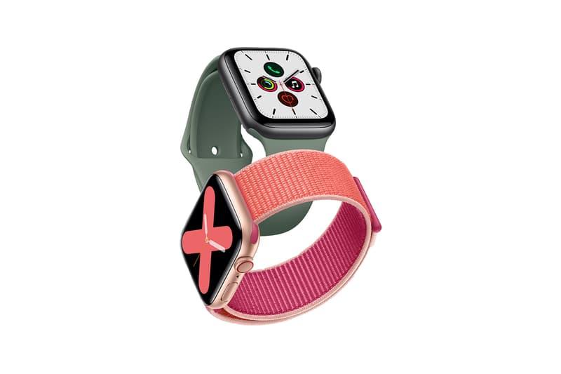 apple watch series 5 tech face band