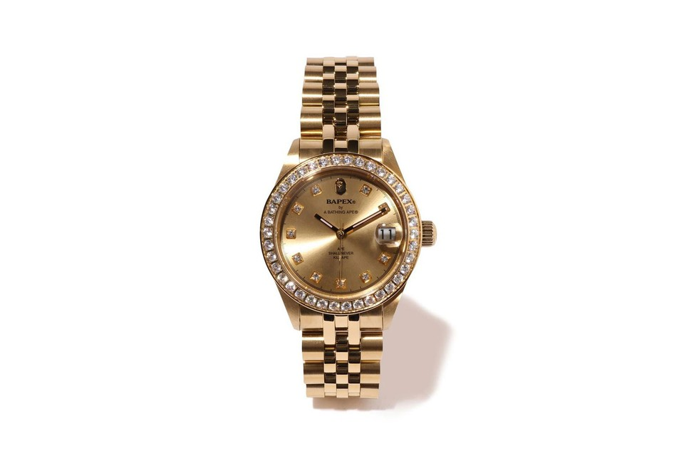BAPE Releases Limited Gold Version of Its Rolex-Inspired Watch, BAPEX