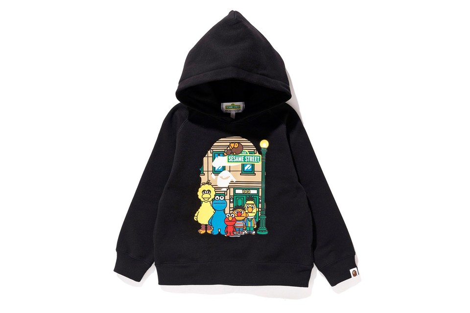 Here's Every Single Piece From the 'Sesame Street' x BAPE Collaboration