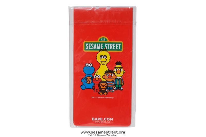 Sesame Street x BAPE Collection Collaboration Release Elmo Cookie Monster Baby Milo Bert Ernie