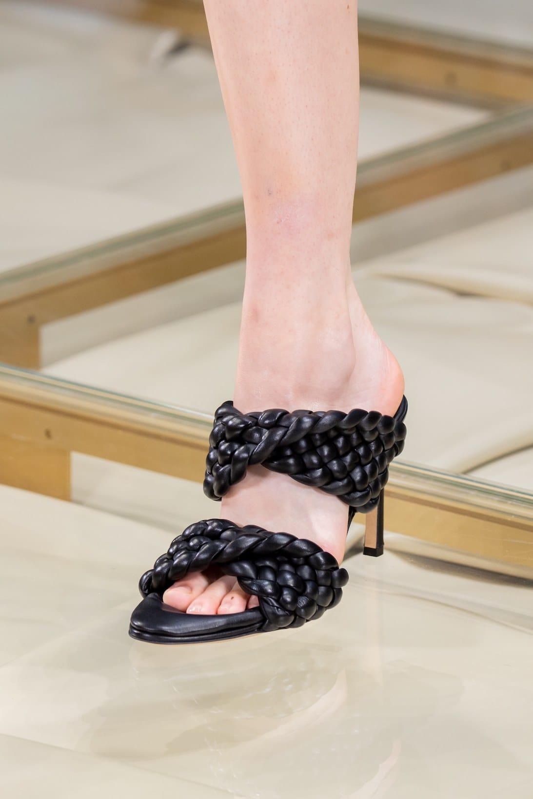 Footwear Bottega Veneta's MFW SS20 Show