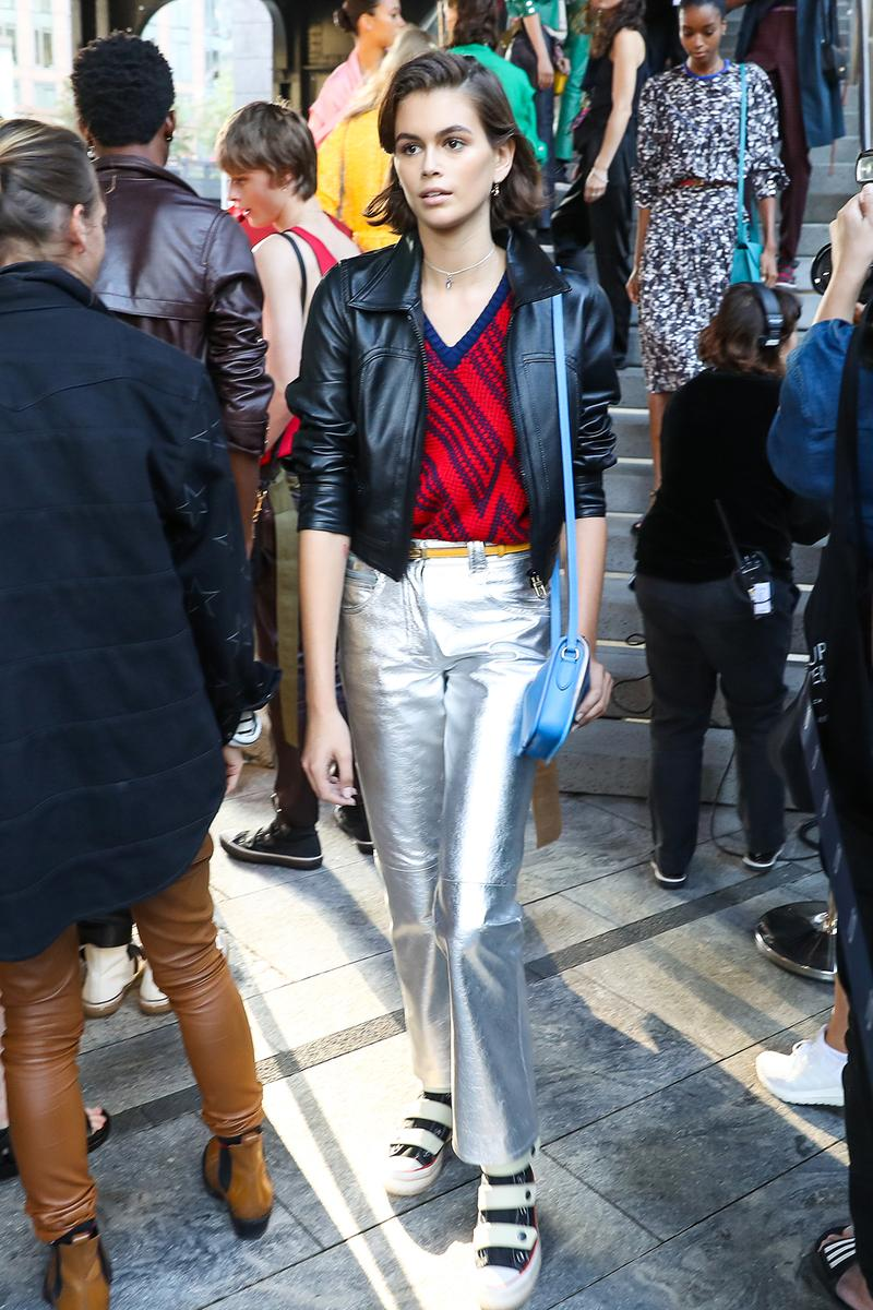 kaia gerber celebrity style new york fashion week spring summer 2020