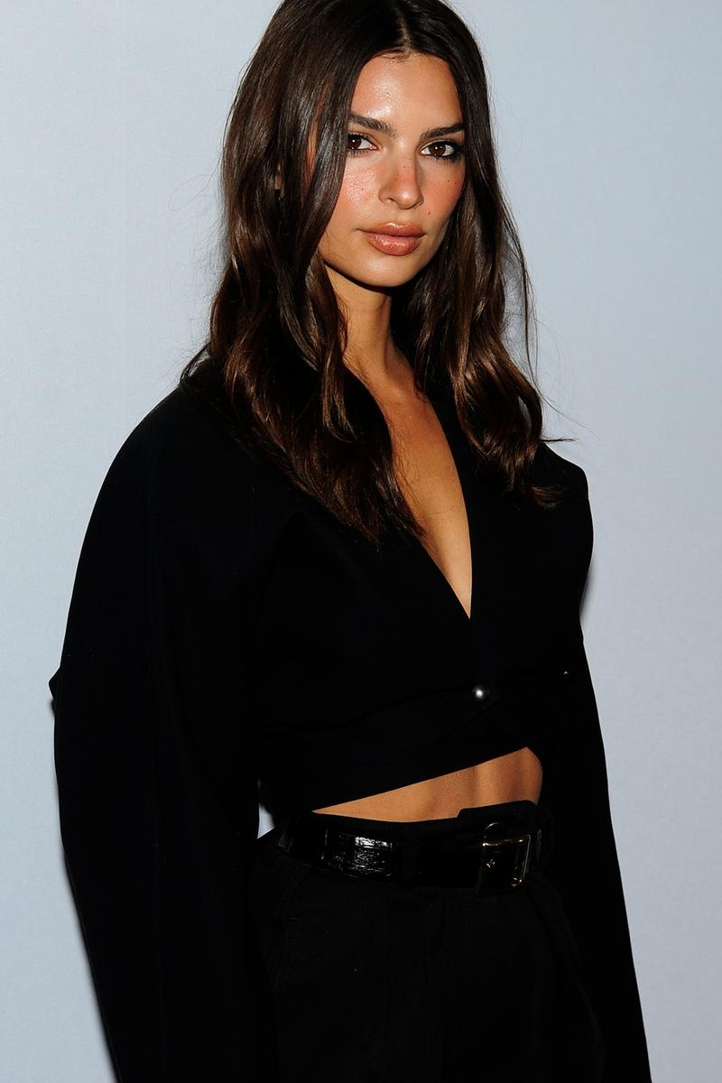 Emily Ratajkowski Daily Front Row New York Fashion Week Media Awards
