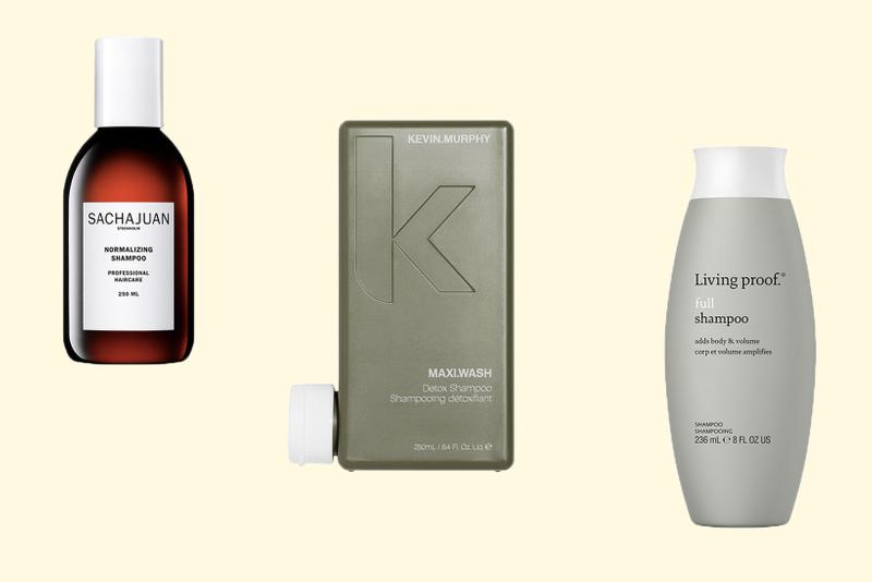 Best Shampoo Products for Greasy Hair Types Haircare Aveda Kevin Murphy Sachajuan Living Proof Virtue