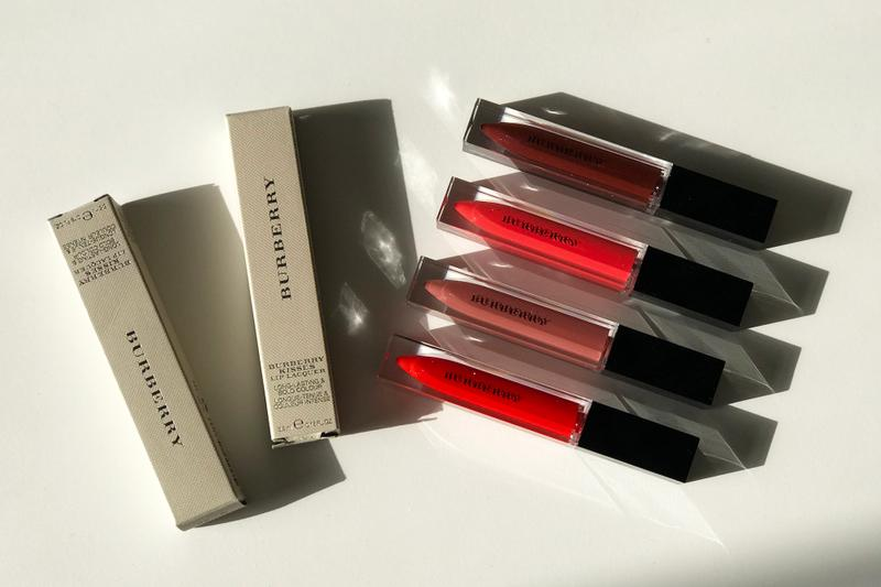Burberry Kisses Lip Lacquer Lipstick Review Liquid Lips Makeup Formula Color Beauty Range Test