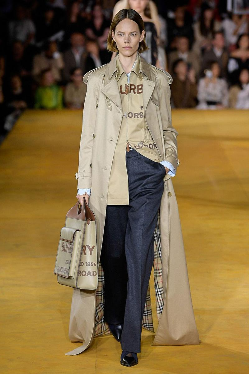 Burberry Riccardo Tisci Spring Summer 2020 London Fashion Week Pants Black