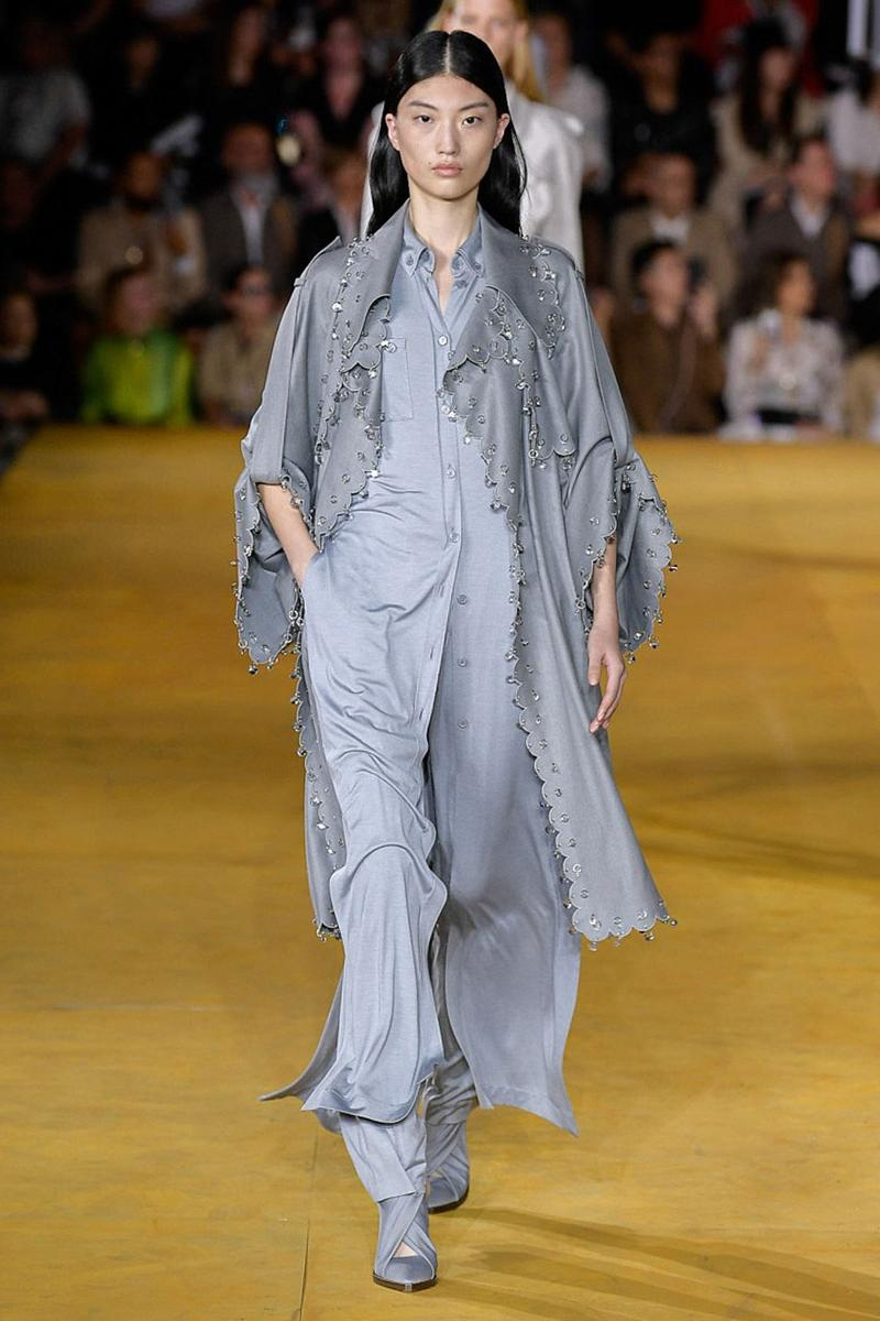 Burberry Riccardo Tisci Spring Summer 2020 London Fashion Week Top Pants Grey