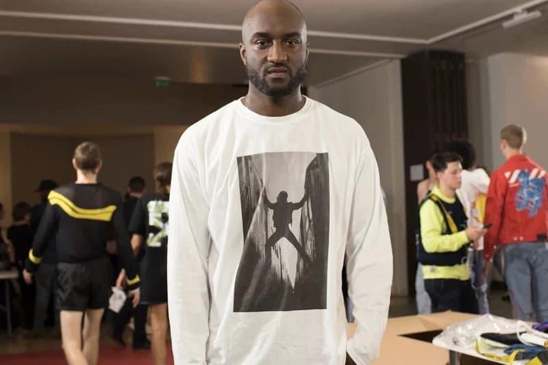 virgil abloh portrait white shirt graphic long sleeve fashion designer off-white