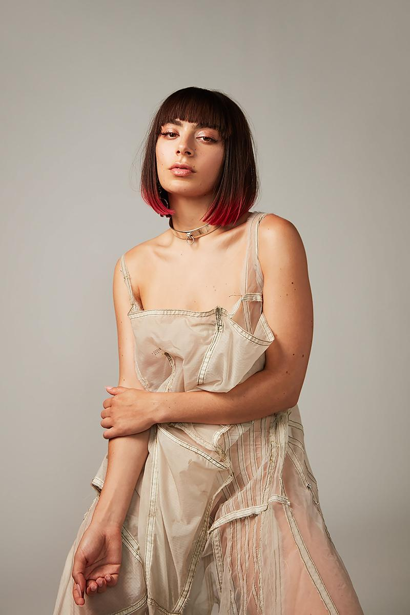 Charli XCX Dress Tan