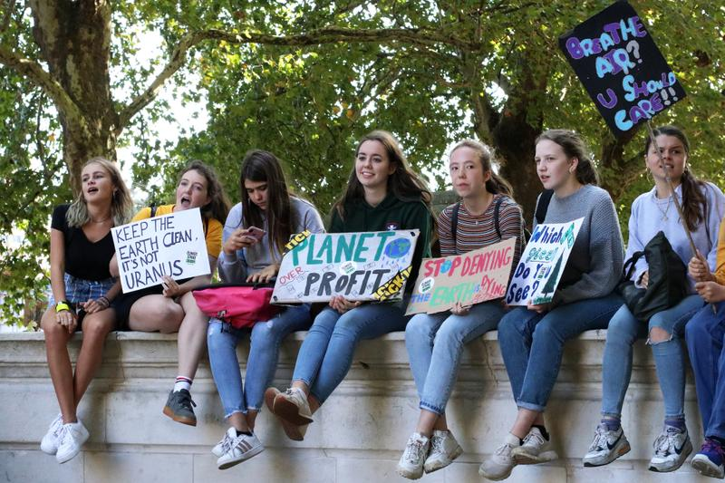 Here's Why Kids Are Joining The Climate Strike Greta Thunberg Interview Protest Climate Change Movement Reason Politics Government  Environment