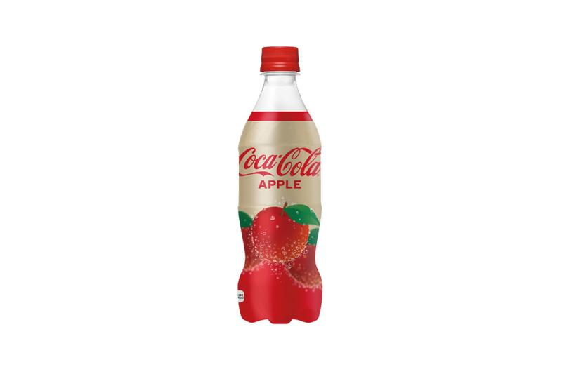 coca cola coke japan apple new flavor limited edition release drink beverage soda
