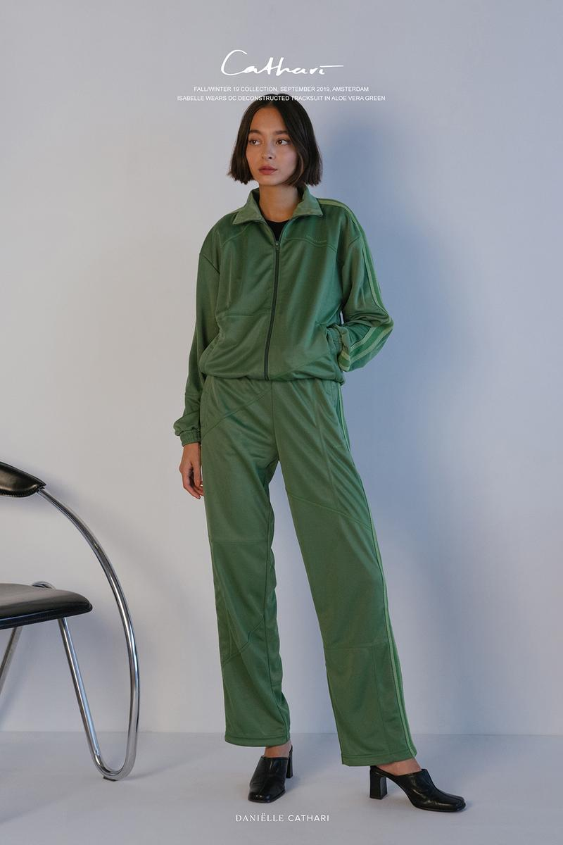 danielle cathari fall winter collection tracksuits racer tops sportswear loungewear lou buche