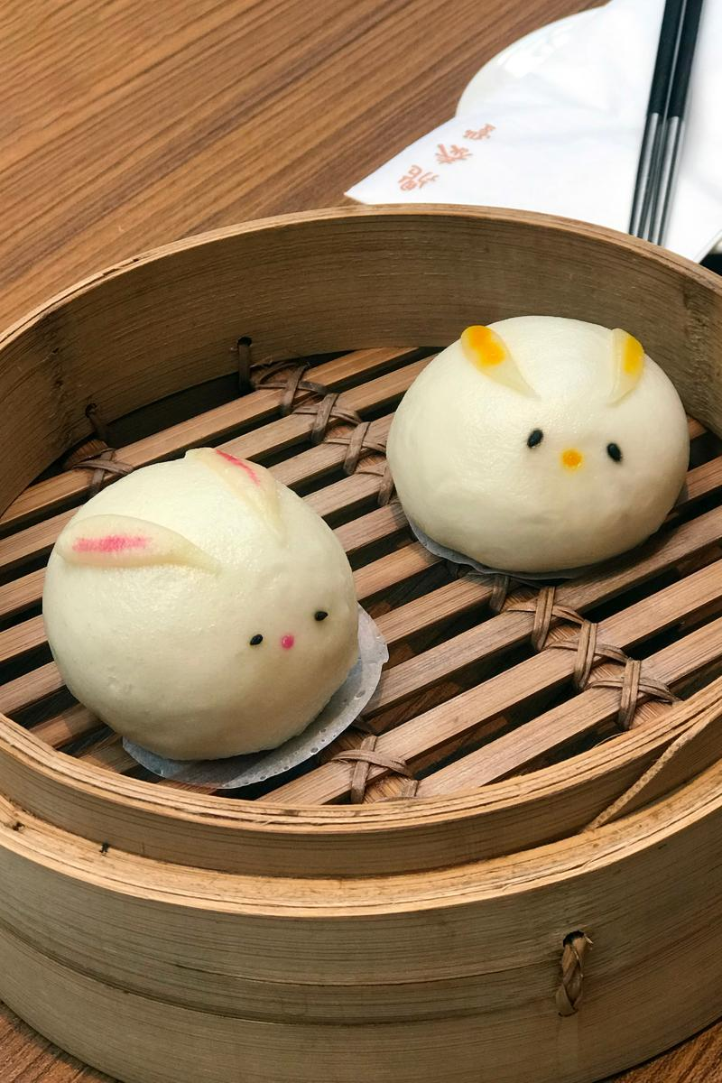 Din Tai Fung Dim Sum Bunny Buns London Review Taiwanese Chinese Dim Sum Food Xiao Long Bao Wonton