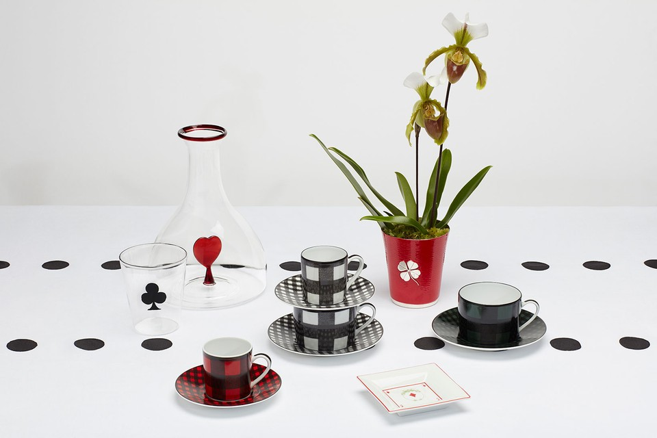Elevate Your Coffee & Dinner Tables With Dior Maison's Check'N'Dior Collection