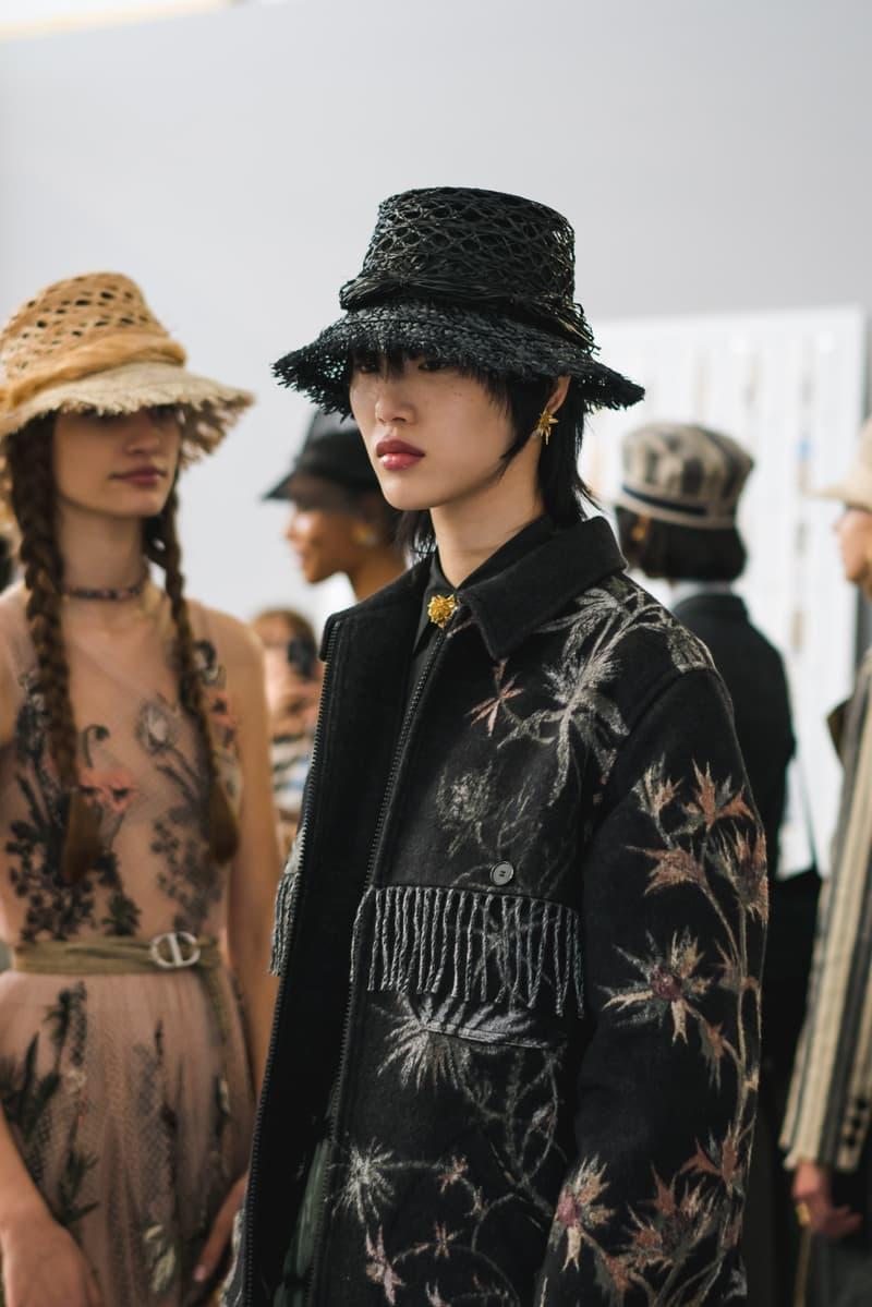 Dior Spring Summer 2020 Paris Fashion Week Collection Show Backstage Look Jacket Black