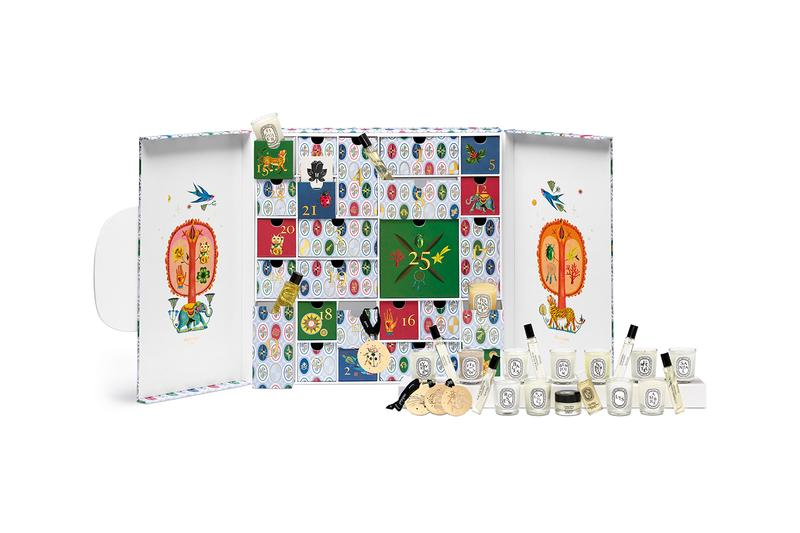 diptyque holiday christmas collection candles advent calendar home