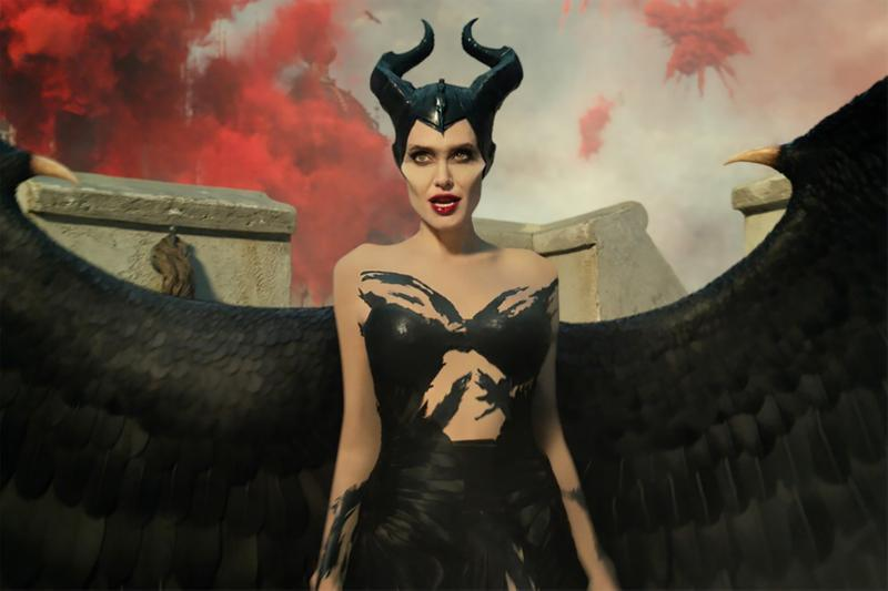 disney maleficent mistress of evil angelina jolie transform makeup behind the scenes movies hair