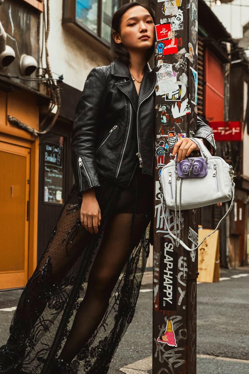 Nunoo Handbags Purple White