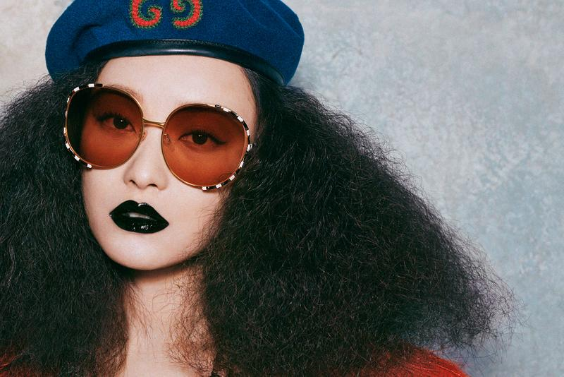 exo kai gucci global brand ambassador eyewear fall winter campaign sunglasses eyeglasses glasses alessandro michele