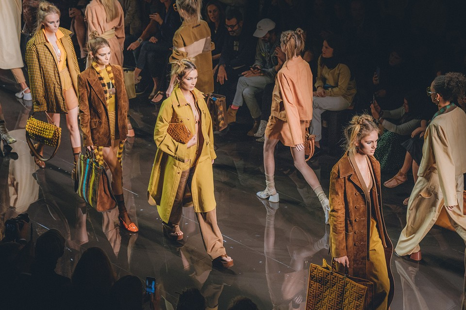 Fendi's SS20 Collection Is Reminiscent of the Psychedelic '70s