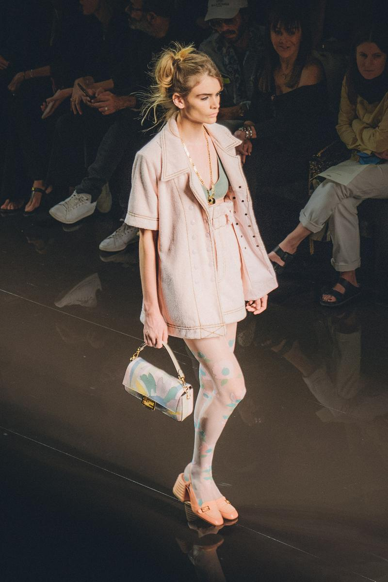 Fendi Spring Summer 2020 Milan Fashion Week Runway Show Model Bag