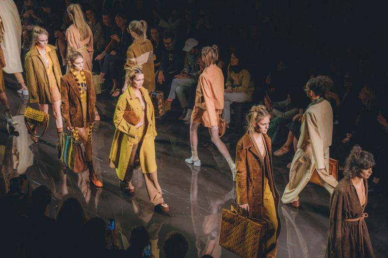 Fendi Spring Summer 2020 Collection Milan Fashion Week Show Dresses Jackets
