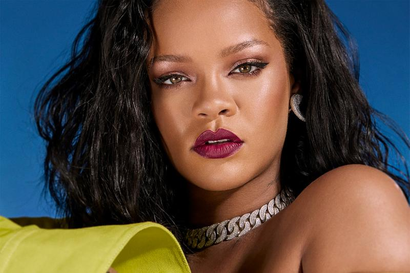 fenty beauty rihanna mini gloss bomb holiday collection makeup release date beauty cosmetics glossy posse