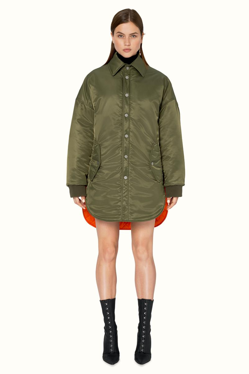 FENTY Rihanna Release 9-19 Collection Lookbook Jacket Green
