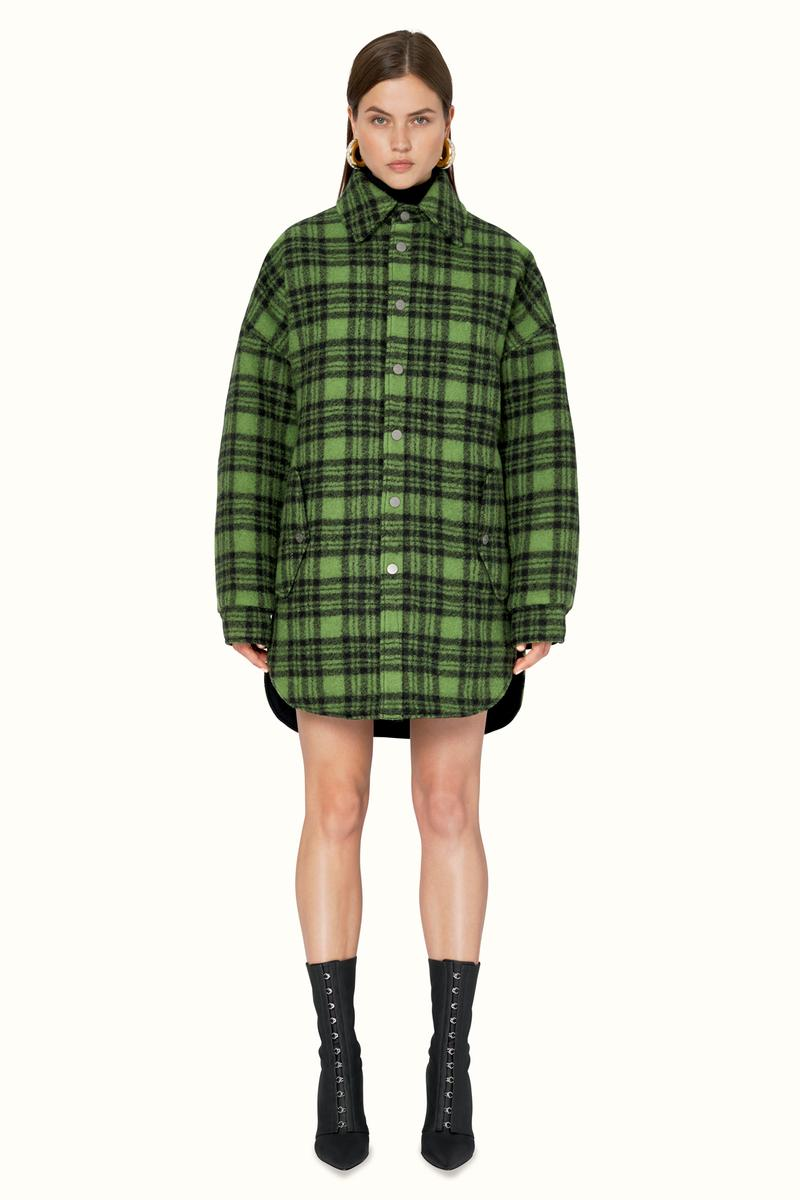 FENTY Rihanna Release 9-19 Collection Lookbook Shirt Green