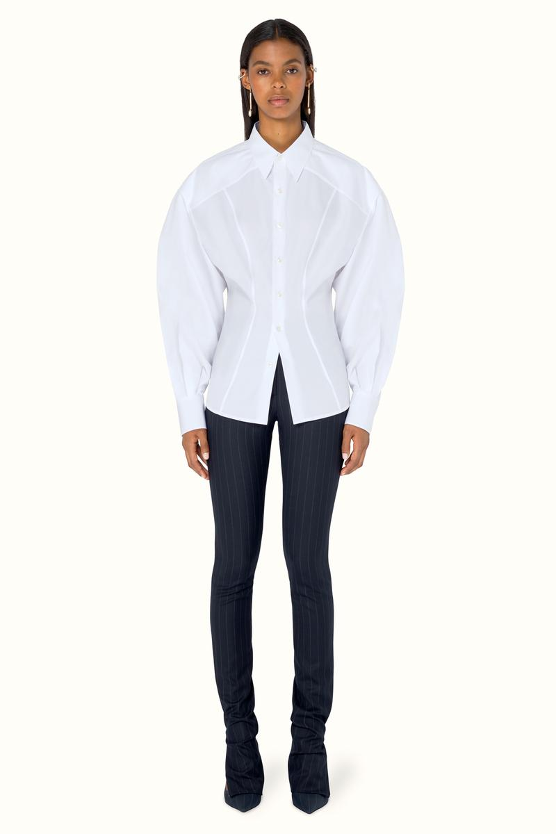 FENTY Rihanna Release 9-19 Collection Lookbook Shirt White Pants Black