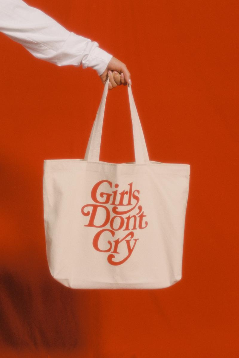 Girls Don't Cry Fall 2019 Collection Tote Bag Tan
