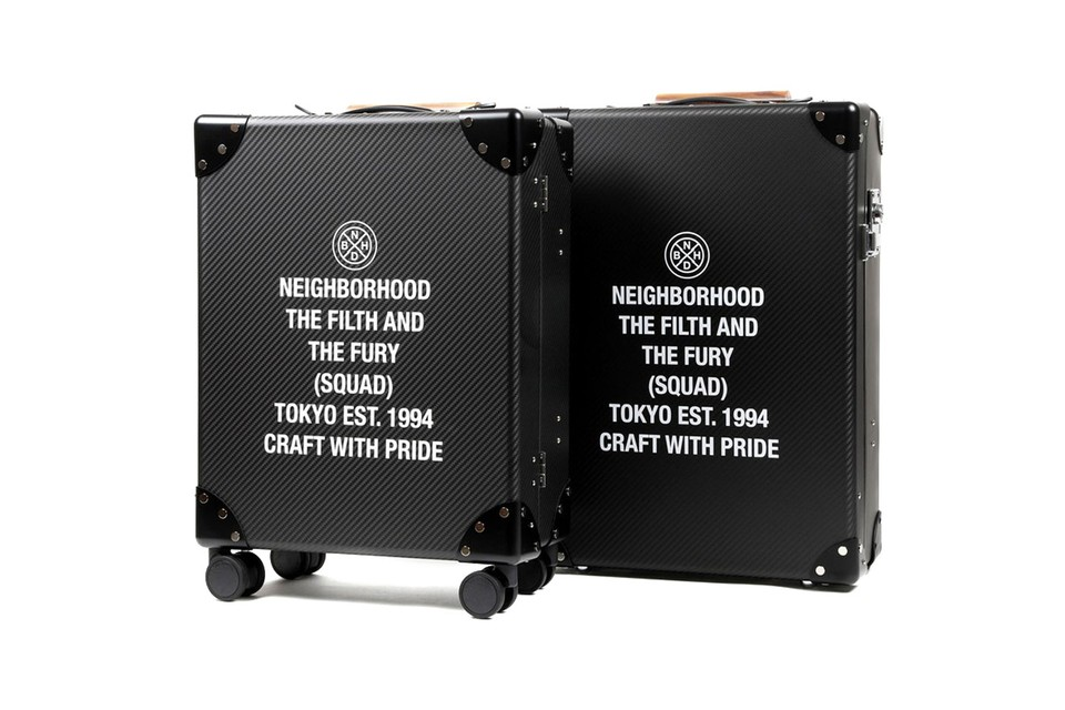 Elevate Your Travels With Globe-Trotter x NEIGHBORHOOD's Luxe Suitcases