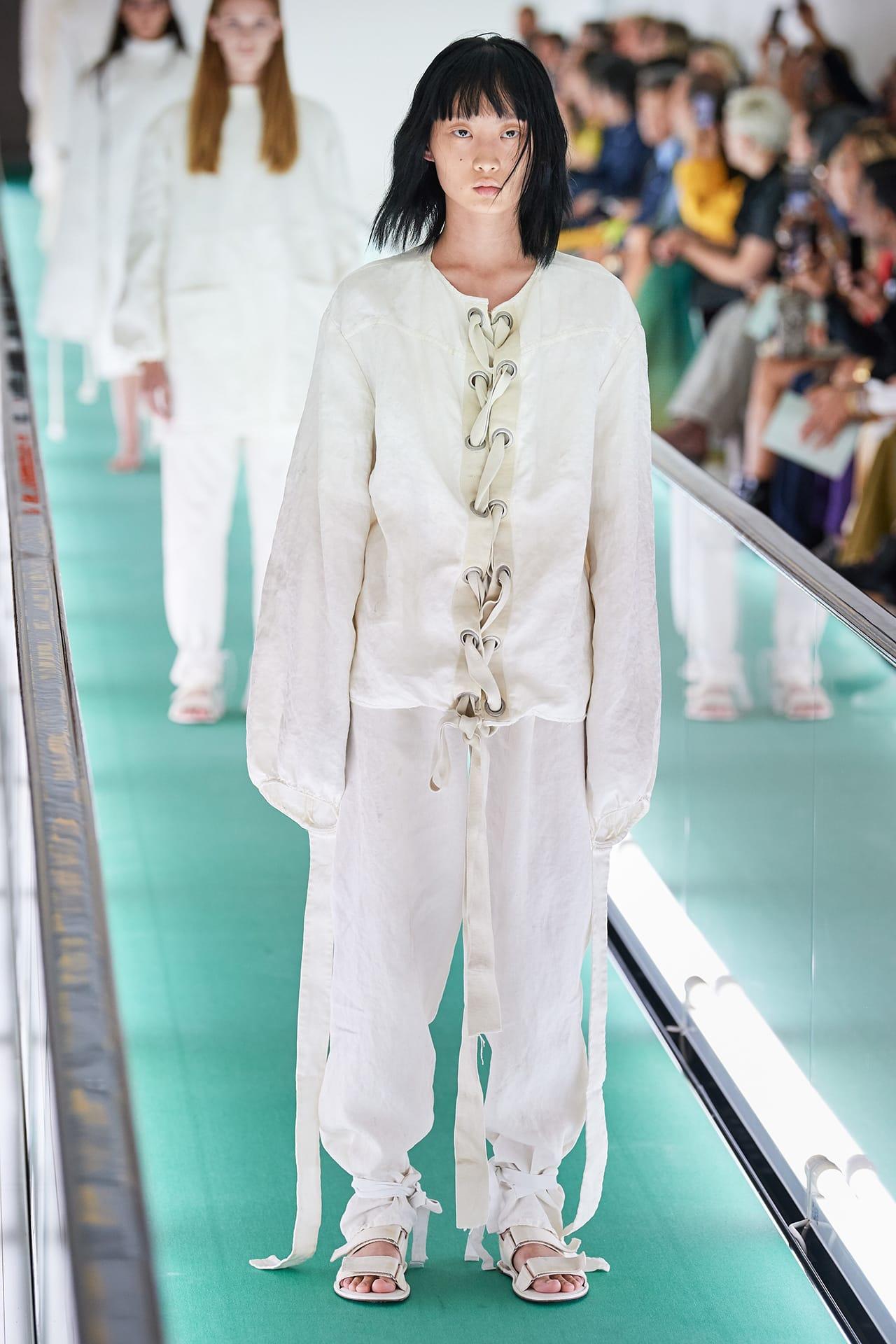 Gucci Model Yaya Bones Mental Health Protest