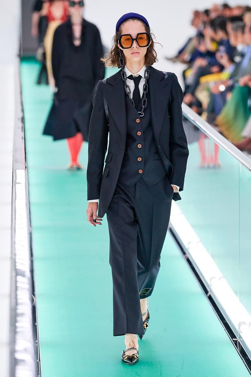 Gucci Orgasmique Spring Summer 2020 Runway Show Milan Fashion Week SS20 suit