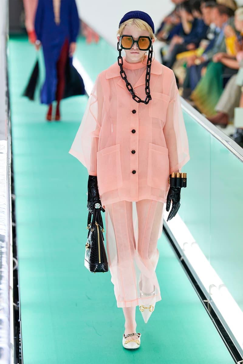Gucci Orgasmique Spring Summer 2020 Runway Show Milan Fashion Week SS20 pink
