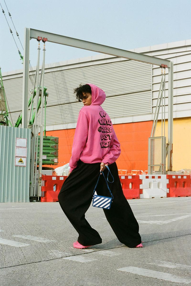 off-white fall winter collection virgil abloh womens streetwear hbxwm editorials
