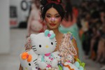 Picture of This Designer Sent a Hello Kitty Collection Down the Runway at London Fashion Week SS20