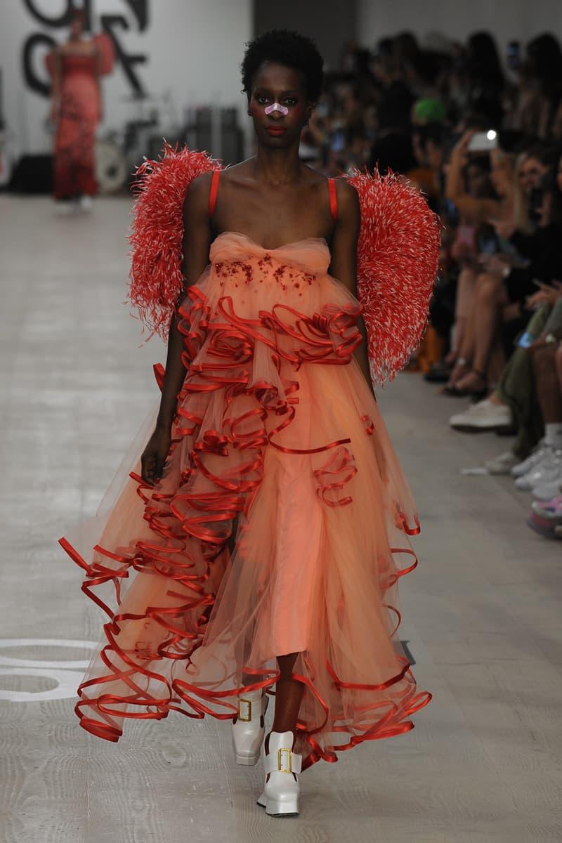 Sanrio Hello Kitty Designer Collection Plush Dress Tracksuit T-Shirt JimmyPaul LFW London Fashion Week SS20