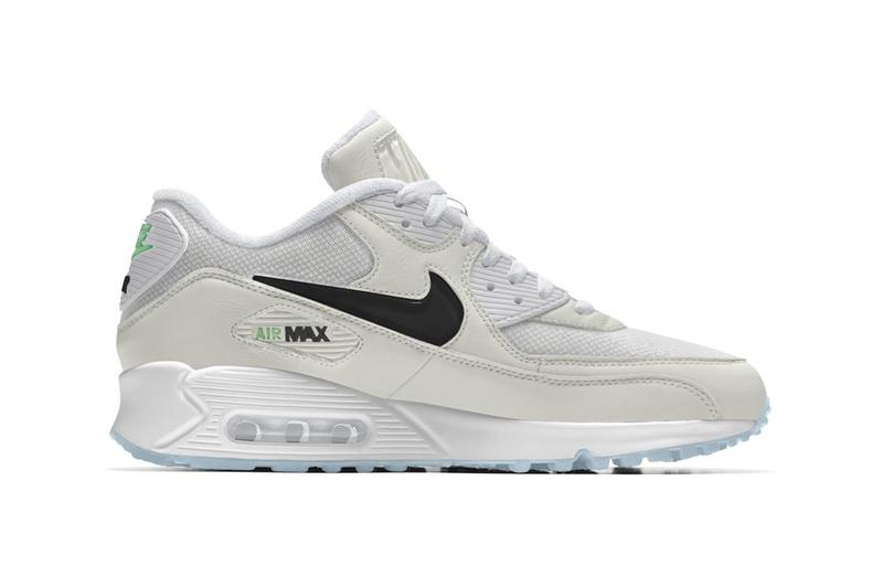 International Girl Crew Nike By You Air Max 90 Grey