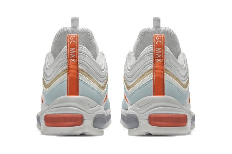 International Girl Crew Nike By You Air Max 97 Grey