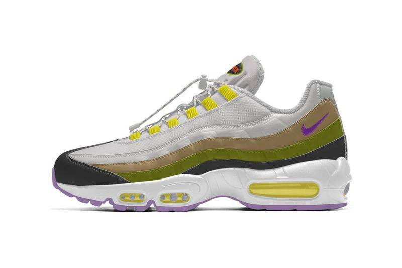 International Girl Crew Nike By You Air Max 95 Green