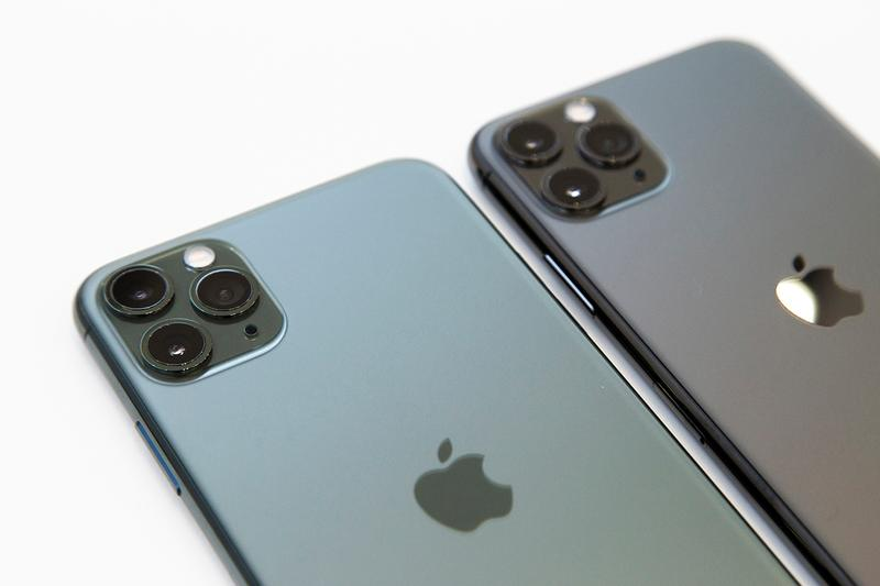 apple iphone 11 space grey black pro max triple camera