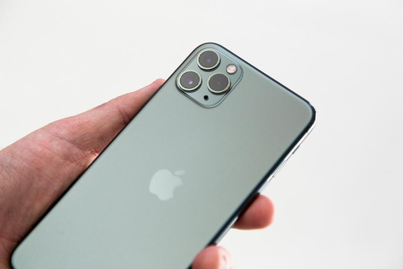 apple iphone 11 space midnight green pro max triple camera