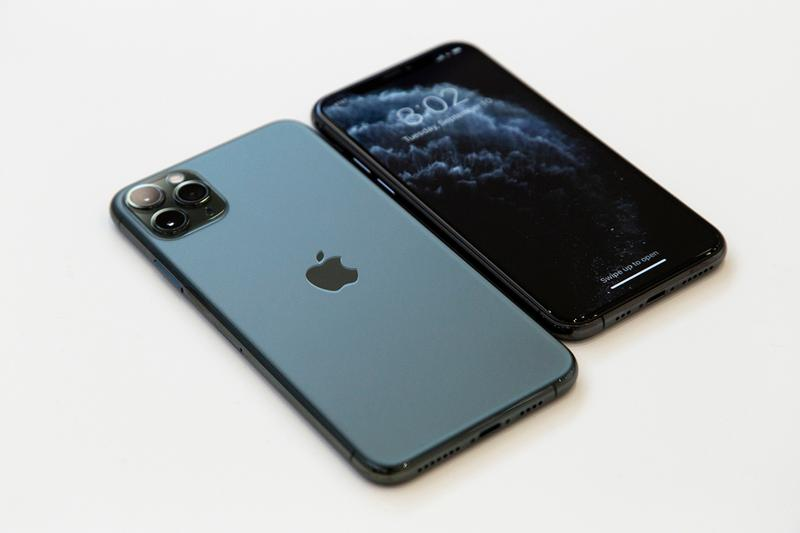 apple iphone 11 space grey pro max triple camera