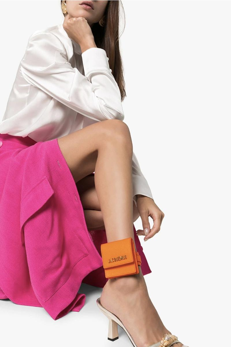 Where To Buy Jacquemus Tiny Bracelet Bag Le Sac Small Accessory Designer Purse
