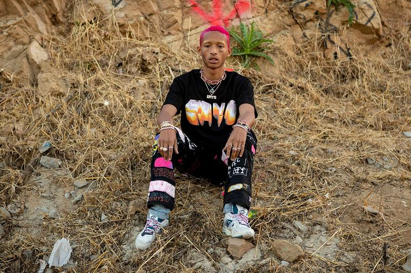 Jaden Smith Selfridges London Pop-Up Collection ERYS Merch Levi's Space Collection Charity Donation Dates UK Exclusive Pieces