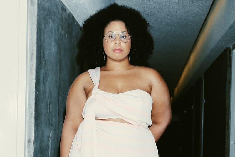 Jasmyn Lawson Netflix Strong Black Lead Jumper White Pink